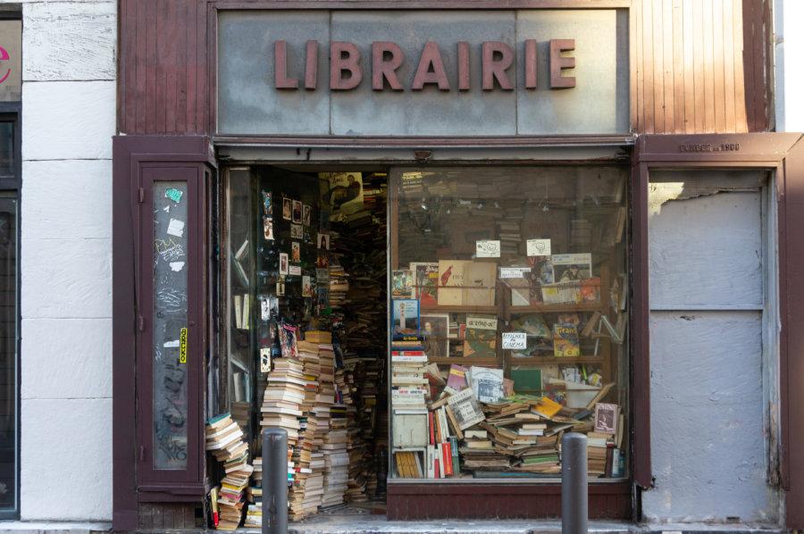 Vieille librairie à Marseille