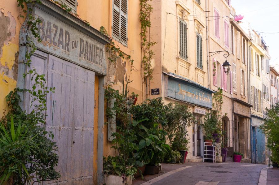 Vieux quartier du panier à Marseille