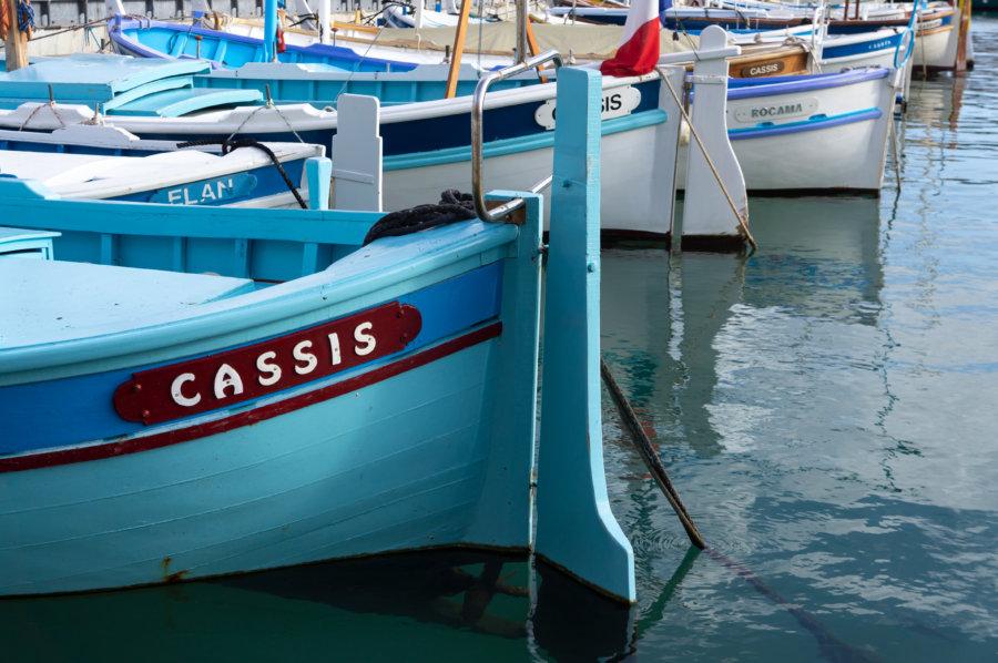 Barque à Cassis