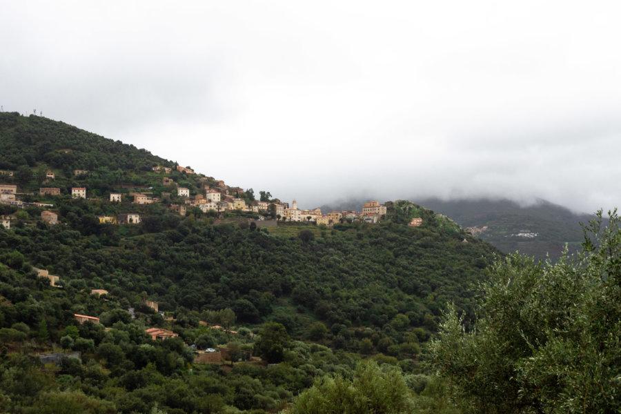 Village de Belgodère en Haute-Corse