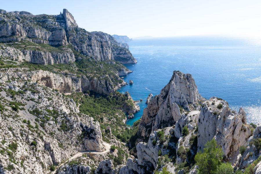 Belvédère de Sugiton, Calanques de Marseille