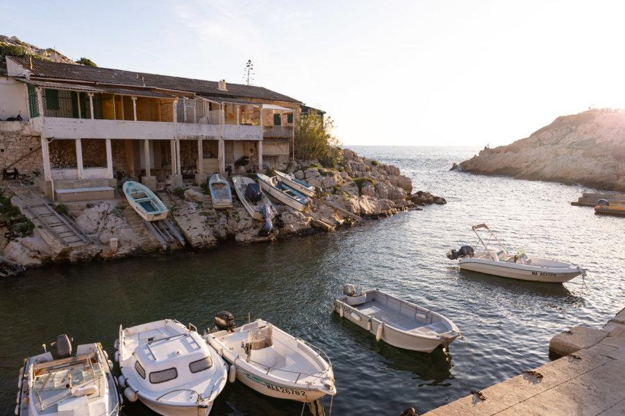 Calanque de Callelongue à Marseille