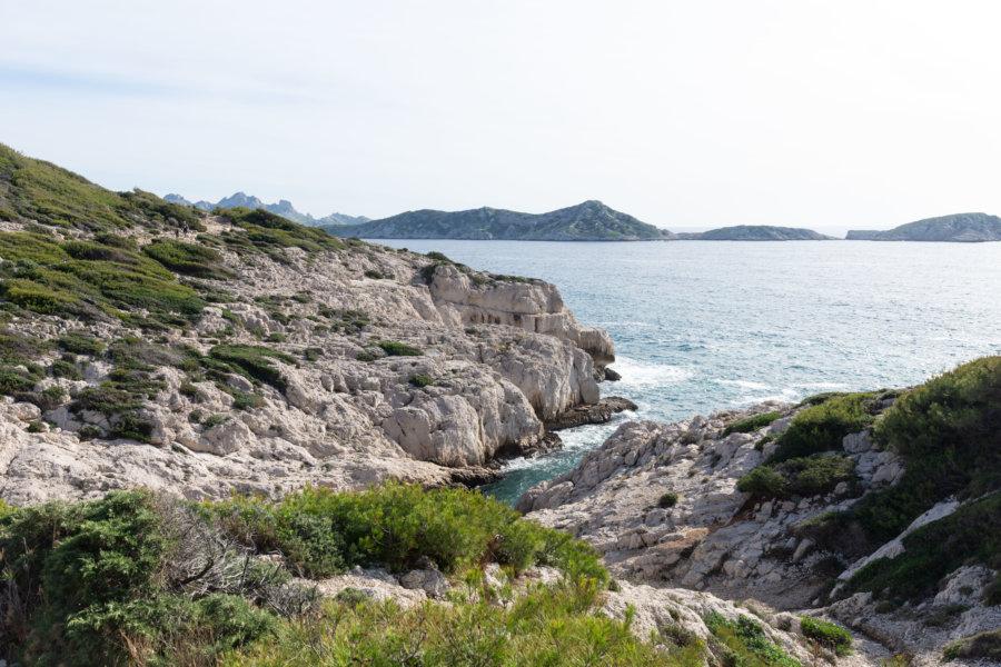 Calanque de la Mounine à Marseille
