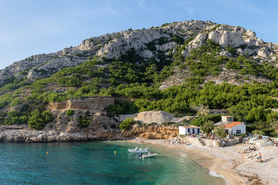 Calanque de Marseilleveyre à Marseille