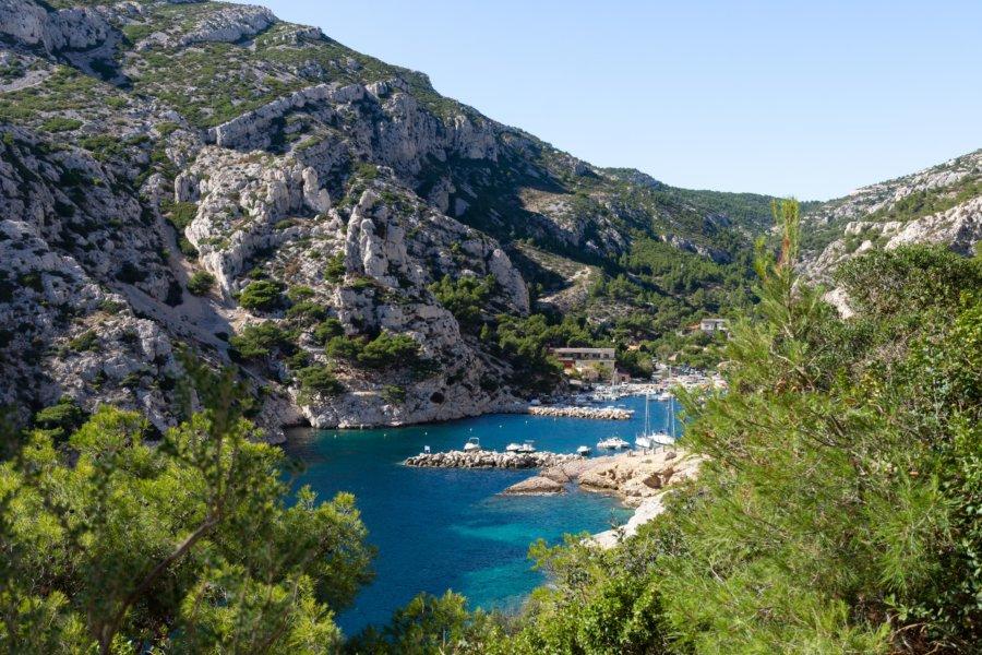 Calanque de Morgiou à Marseille