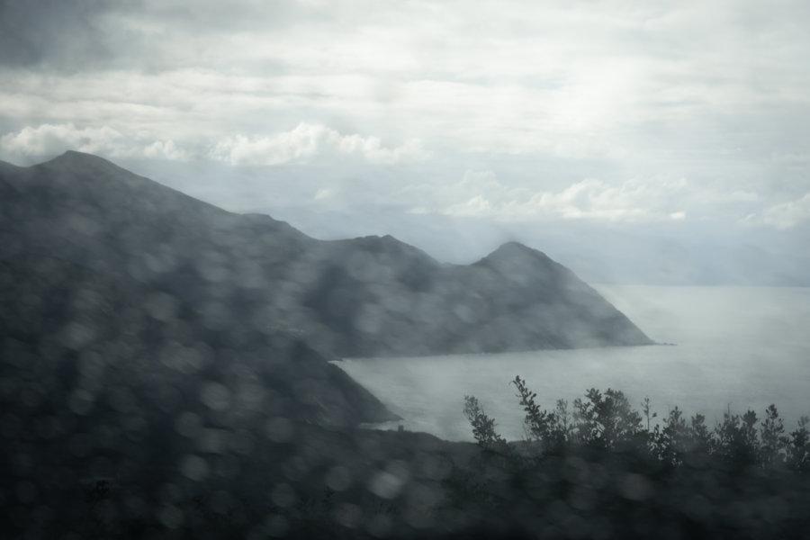 Cap Corse à l'automne : de la pluie !