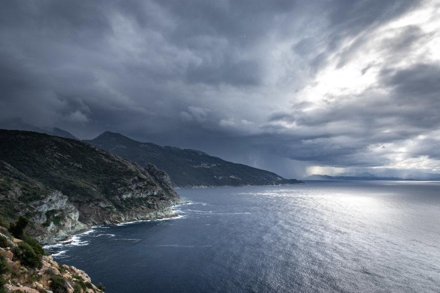 Cap Corse : tempête d'automne