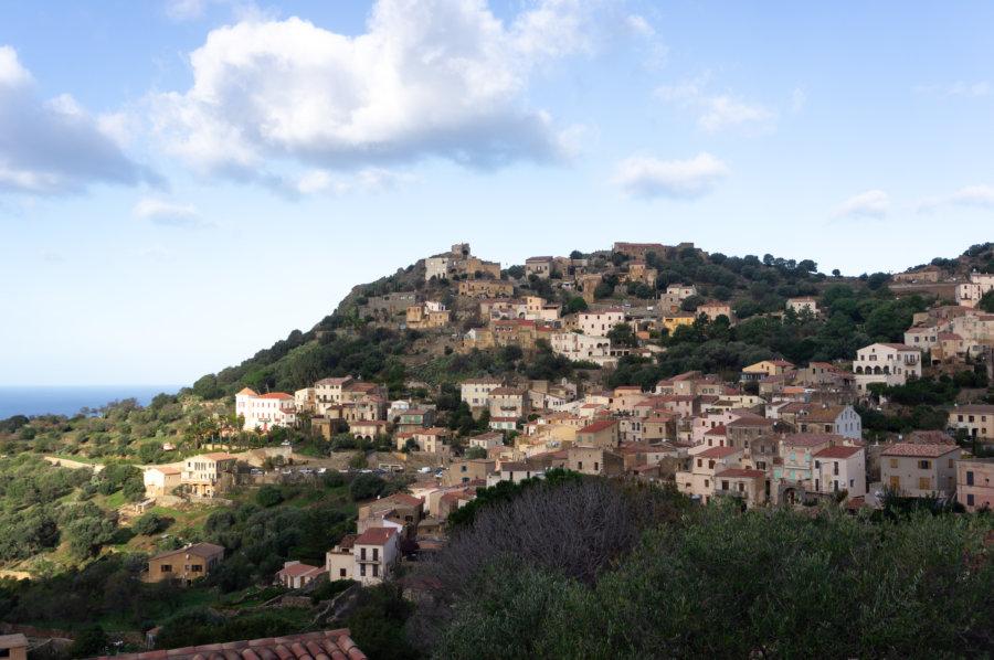 Village de Corbara, Balagne, Corse