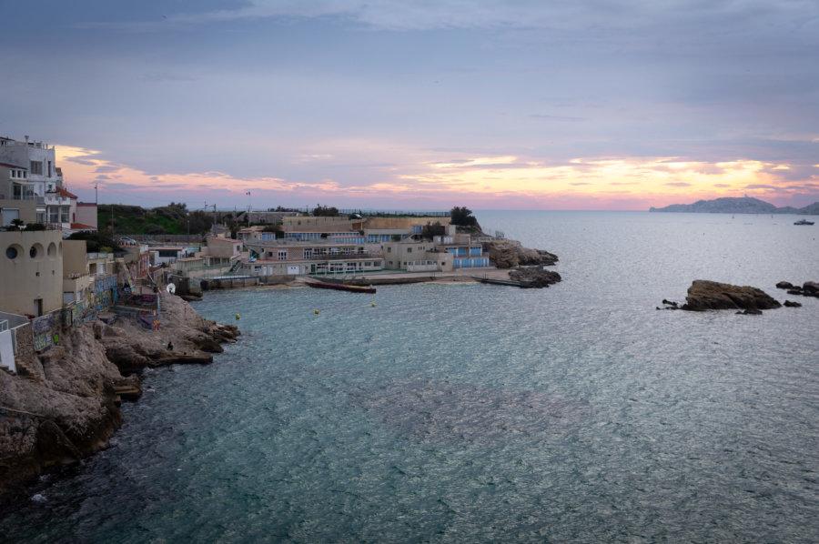 Vue sur Marseille depuis la Corniche