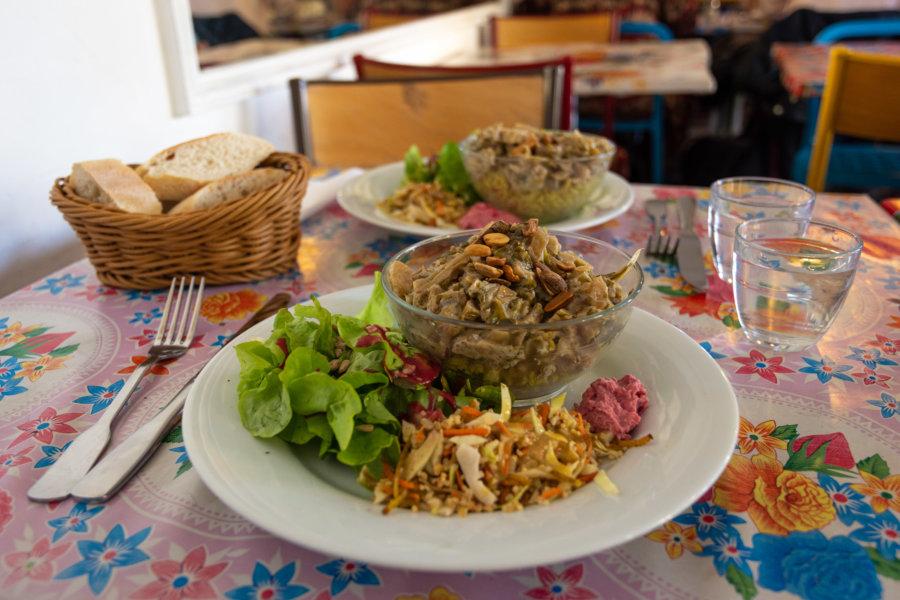 L'écomotive, restaurant végétarien
