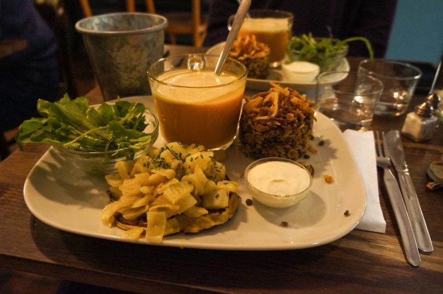 Grain de sable, resto végétarien à Marseille