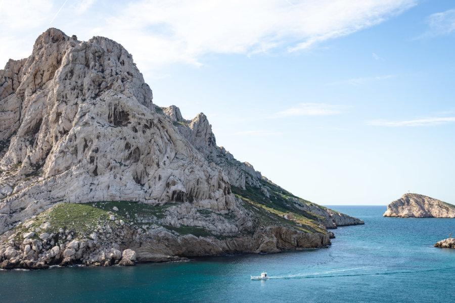 Île Maïre, les Goudes à Marseille