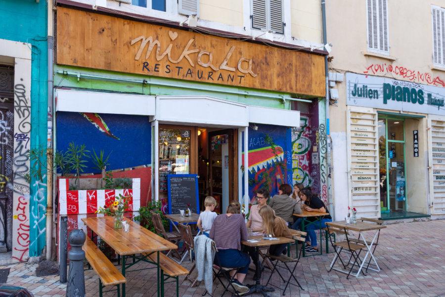 Restaurant végétarien Mikala à Marseille