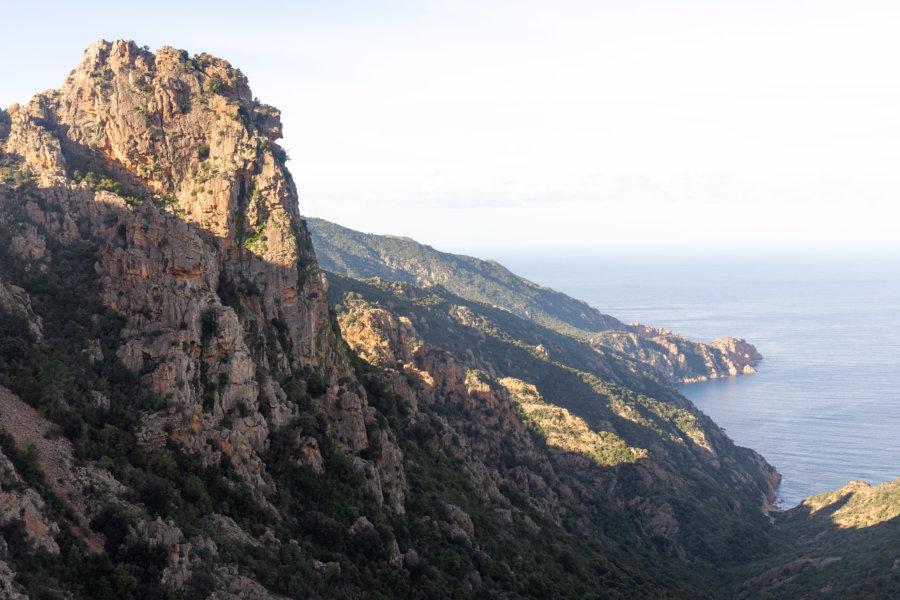 Calanques de Piana, mer et montagne