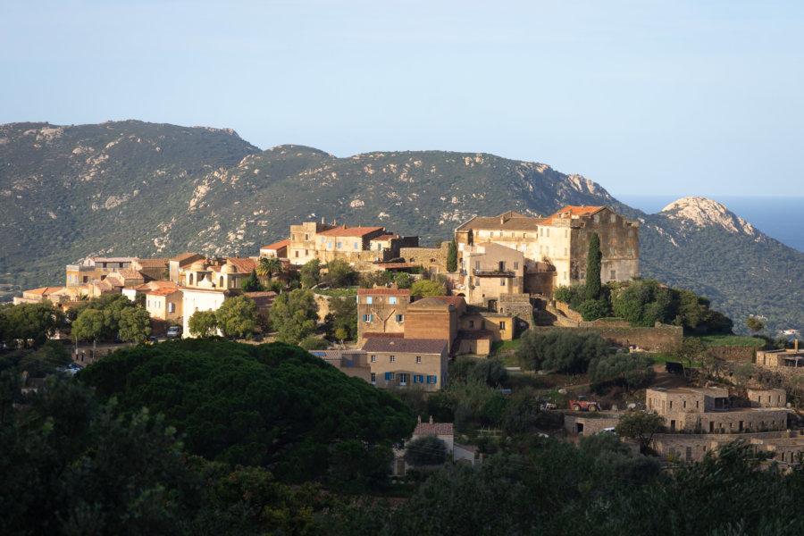 Village de Balagne : Pigna
