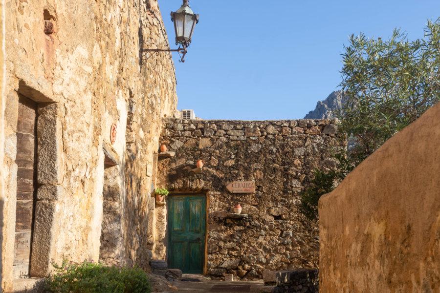 Village de Pigna, Balagne, Haute-Corse