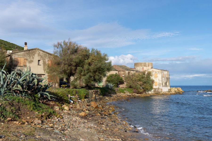 Plage de Tollare en Haute-Corse