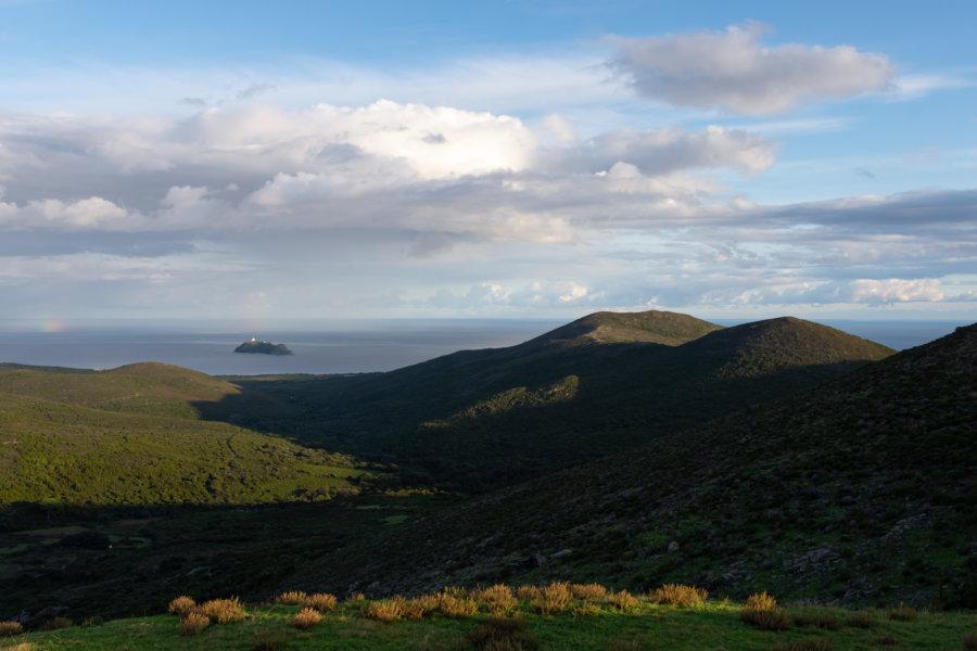 Rogliano et l'île de la Giraglia, Cap Corse