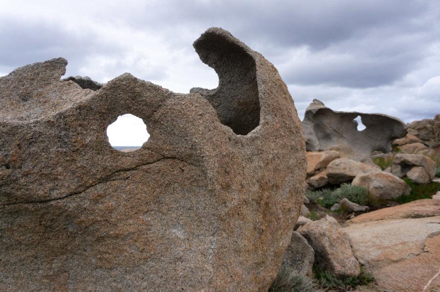 Rochers à la Pointe de Spano, Corse