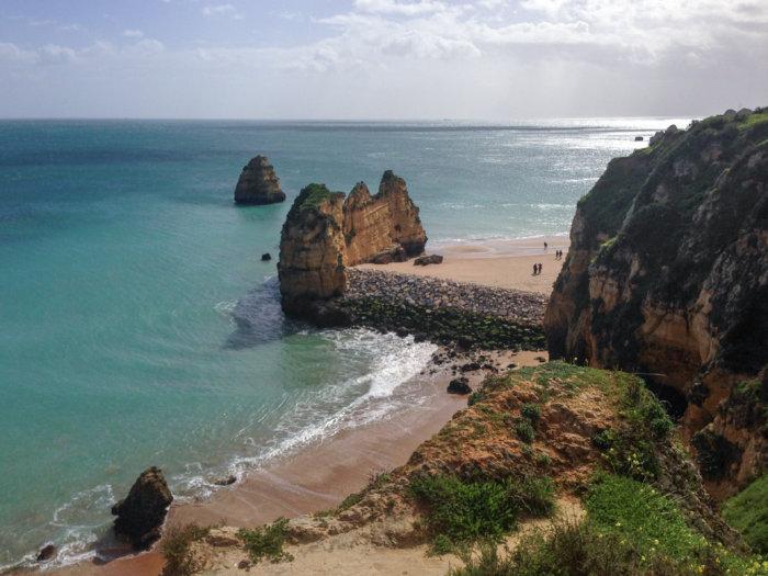 Praia Dona Ana à Lagos, Algarve