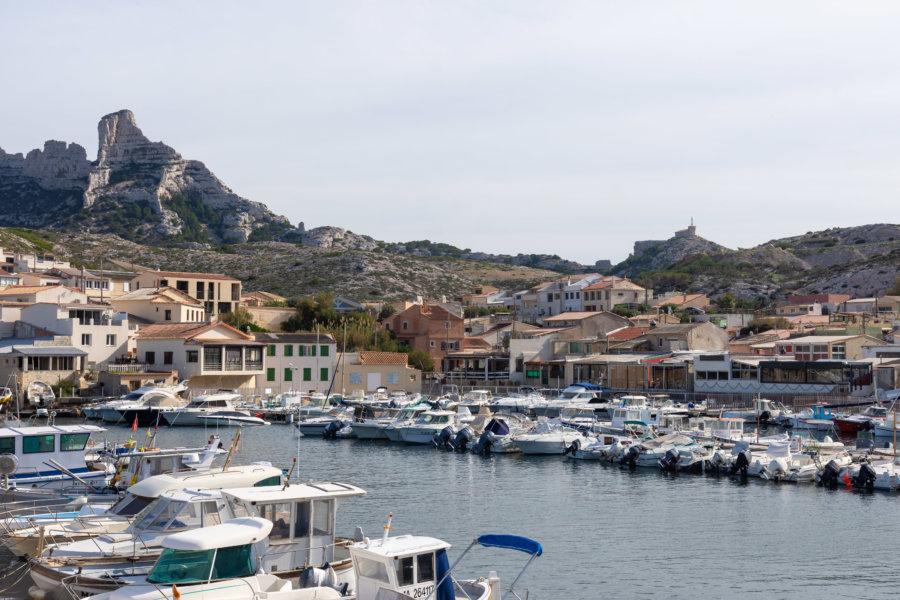 Quartier Les Goudes à Marseille