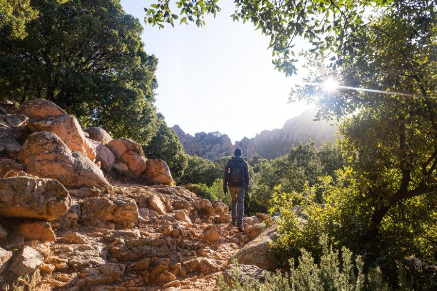 Randonnée dans les calanques de Piana, Corse