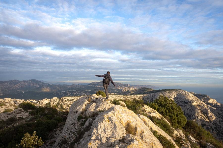 Randonnée à Marseille : croix Pastré