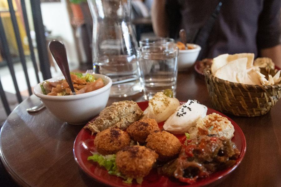 Plat végétarien chez Ashourya à Marseille
