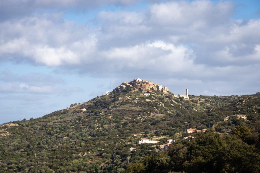 Sant'Antonino, village de Balagne perché