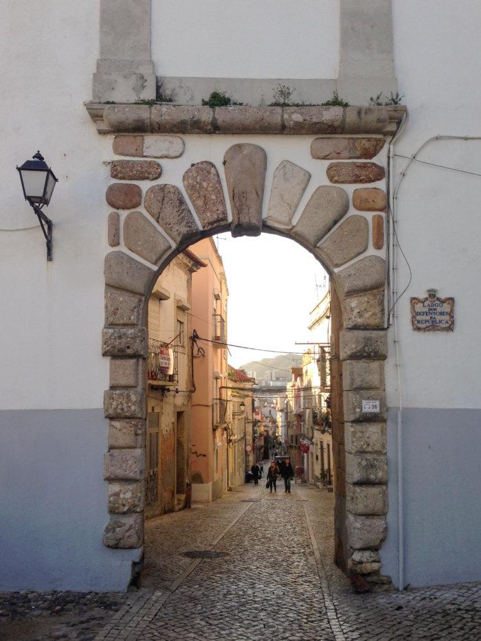 Ville de Setubal au Portugal