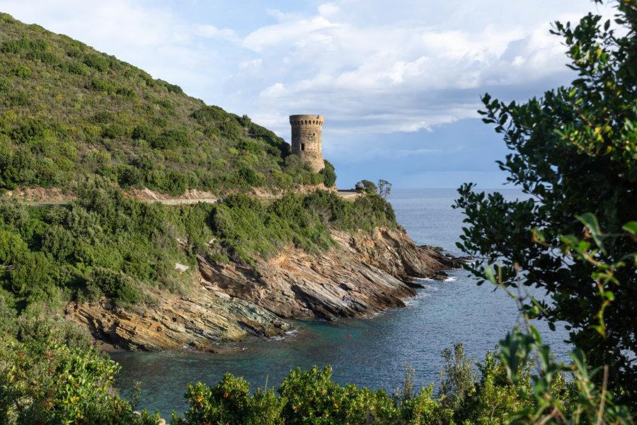Tour genoise dans le Cap Corse