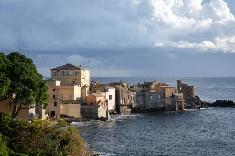 Village d'Erbalunga en Haute-Corse