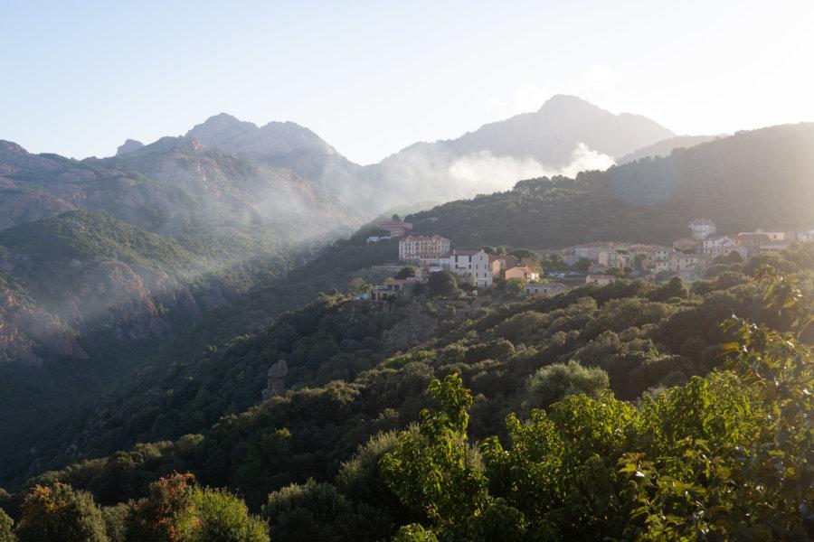 Village de Piana en Corse
