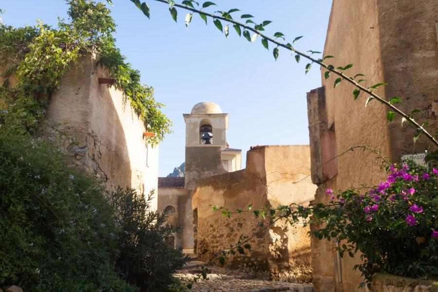 Village de Pigna en Haute-Corse