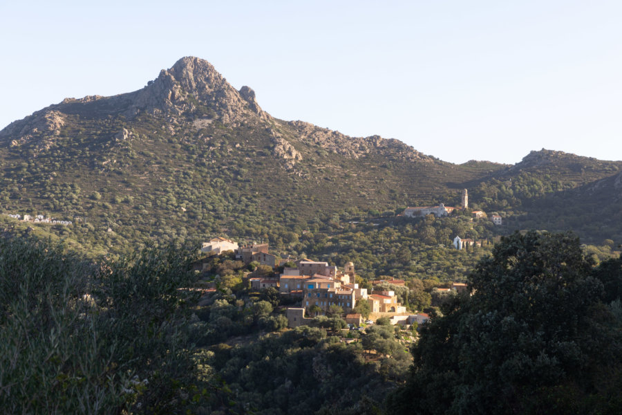 Villages de Balagne en Haute-Corse