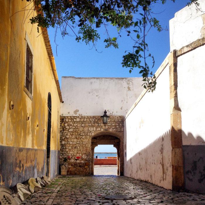 Ville de Faro en Algarve