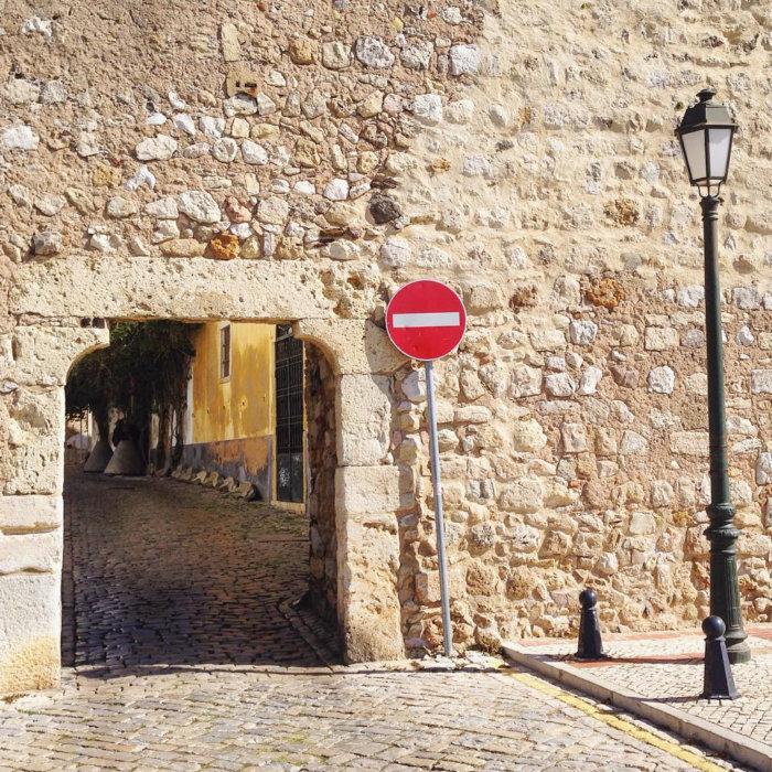 Ville de Faro au Portugal