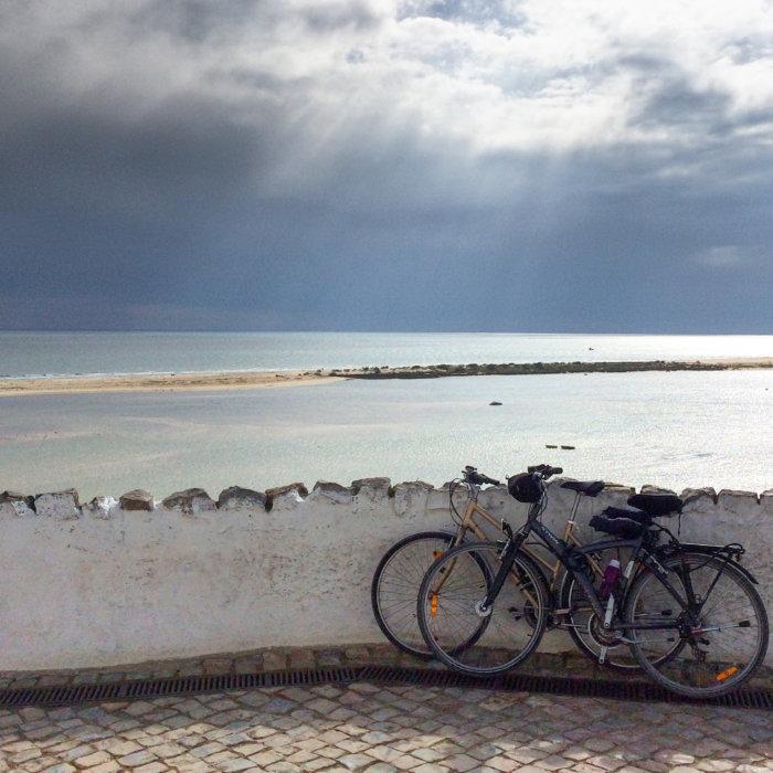 Voyage à vélo en Algarve, Portugal