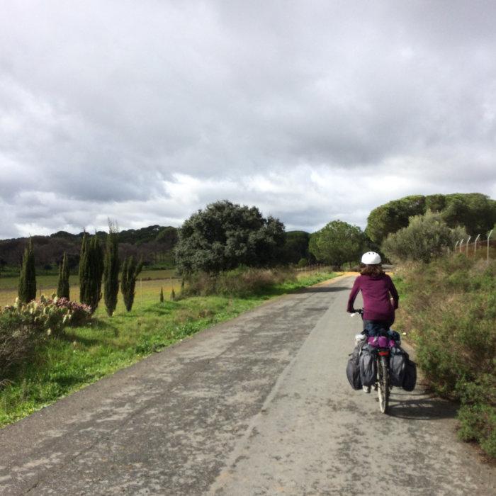 Voyage à vélo en Andalousie