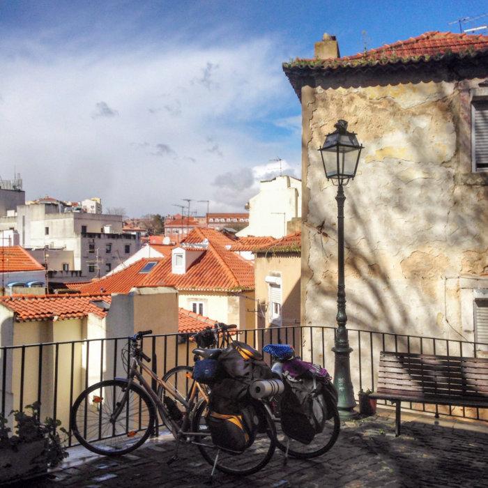 Voyage à vélo à Lisbonne