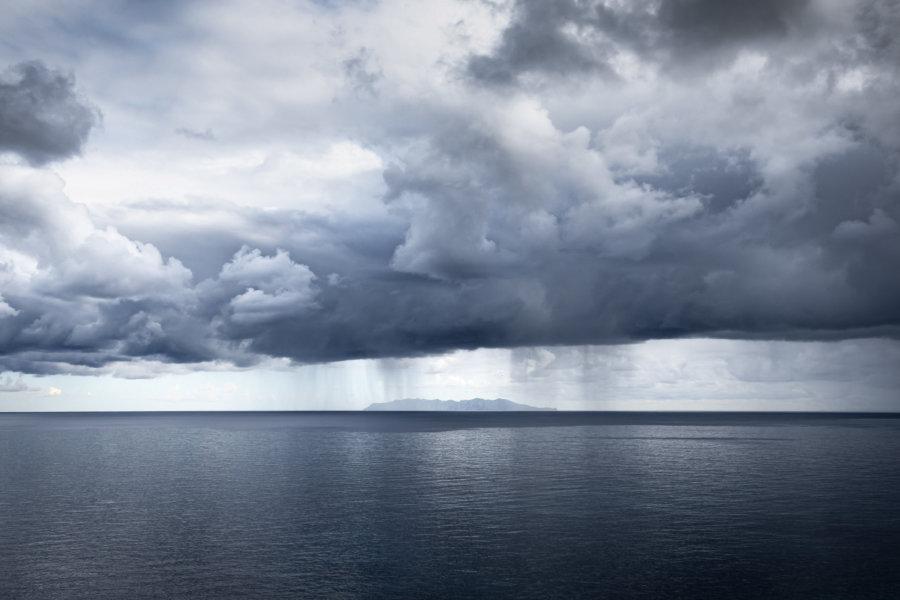 Orage sur le Cap Corse