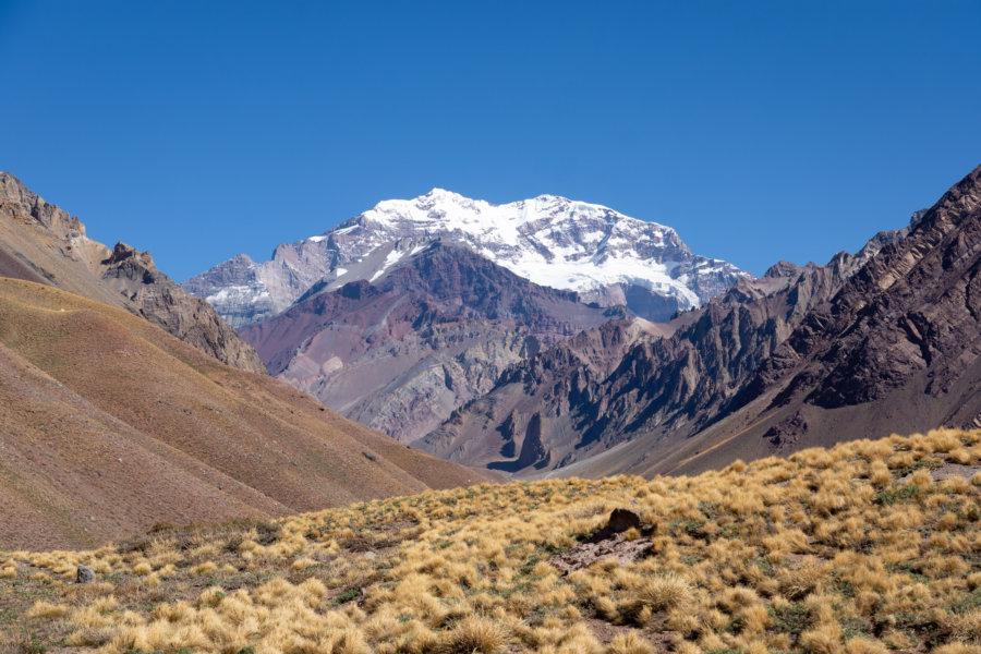 Montagne Aconcagua en Argentine