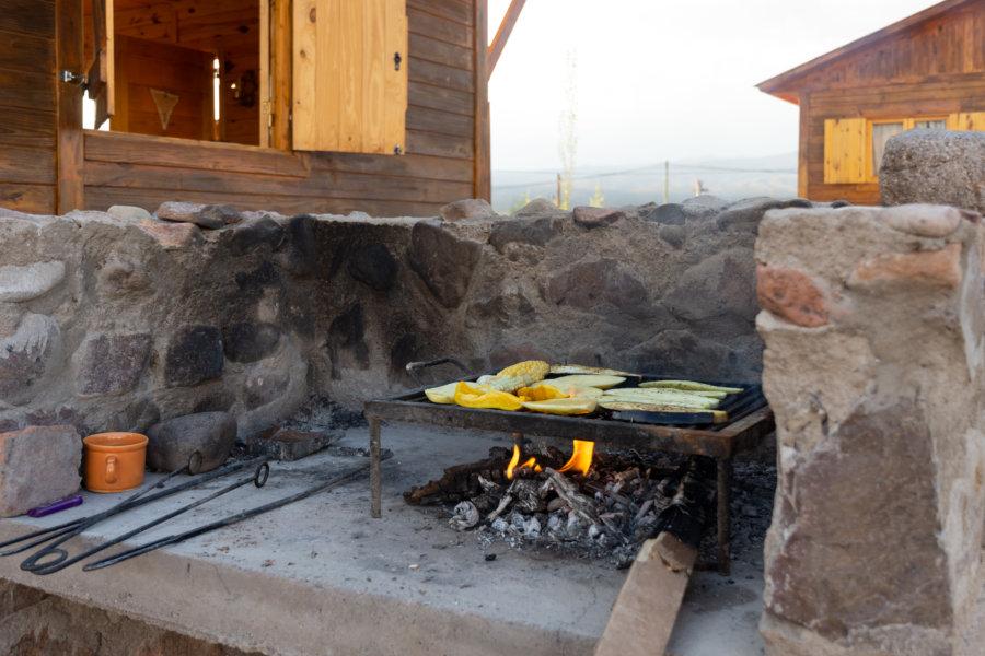 Barbecue et cabane : les vacances à l'argentine