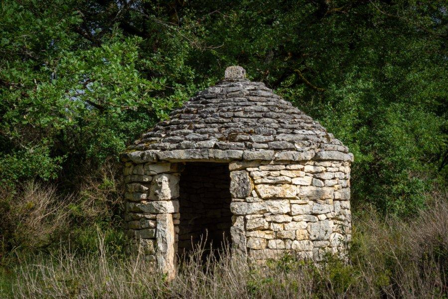 Gariotte, cabane en pierres sèches