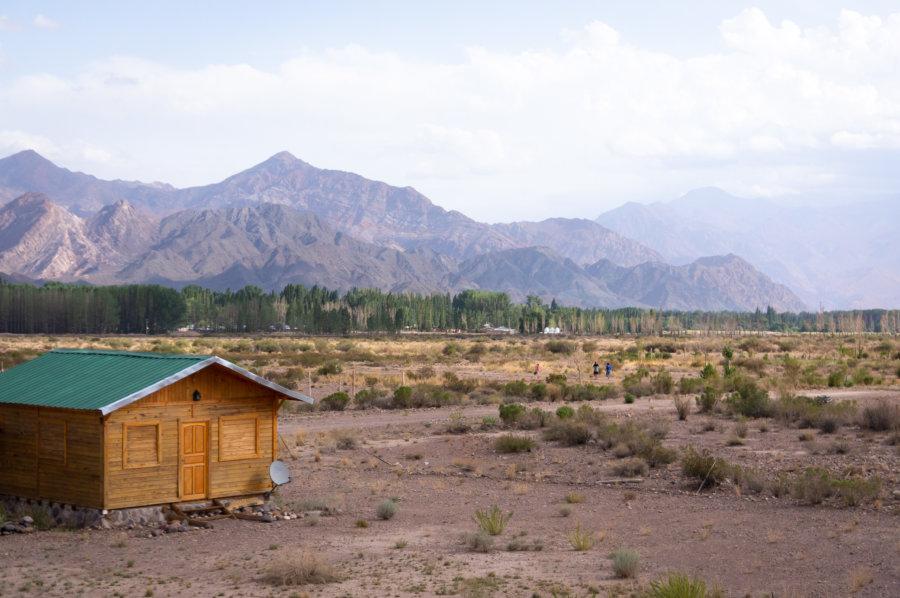 Notre petite cabane à Uspallata