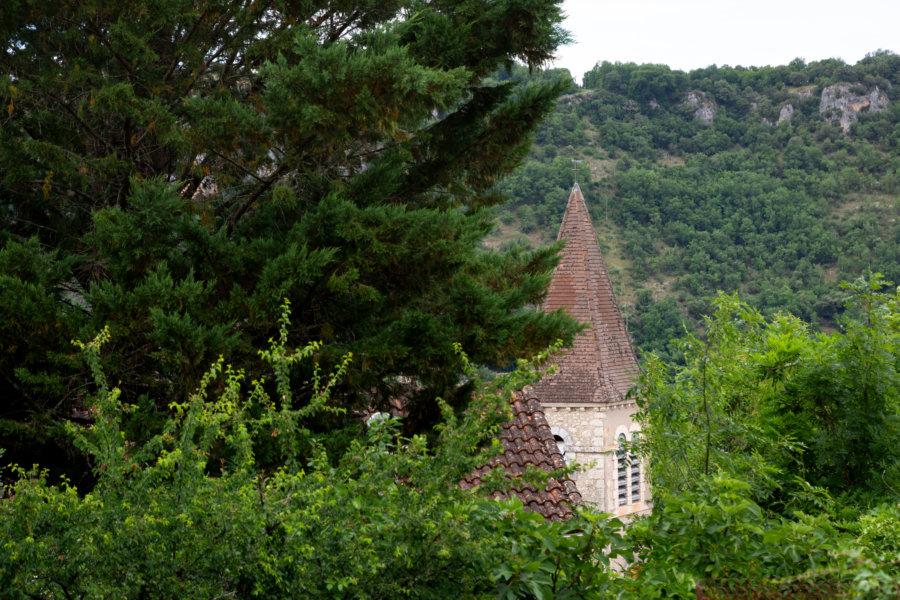 Clocher de l'église de Pasturat