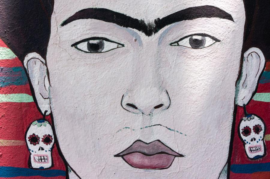 Fresque de Frida Kahlo à Mendoza