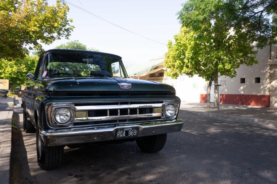 Grosse voiture à San Rafael, Argentine