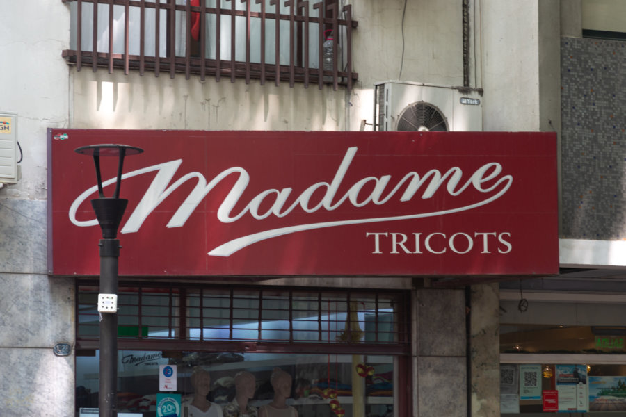 Enseigne Madame Tricots