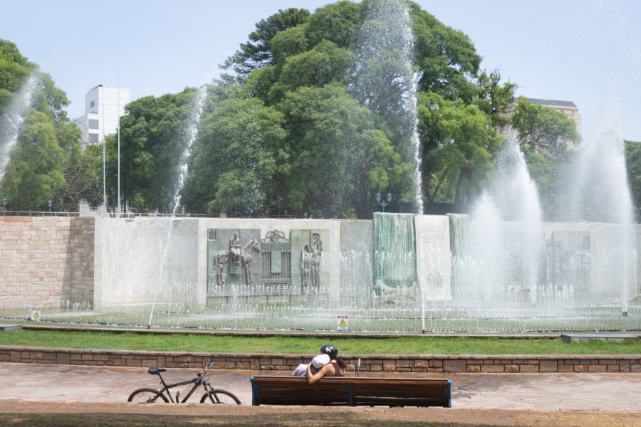 Plaza Independencia à Mendoza